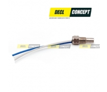 Water temperature sensor and oil