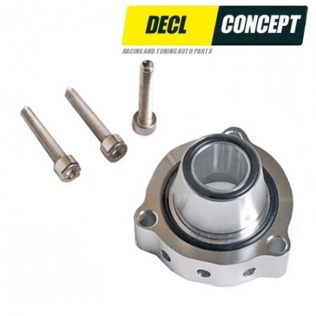 Adapter, Dump Valve, Gesmeed voor Audi Volkswagen 2L Turbo FSiT TFSI