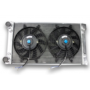 Radiator Aluminum VW GOLF GTI 8S and 2 fans dishes