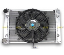 Radiator Aluminum VOLKSWAGEN GOLF GTI 16S MK2 and fan tv