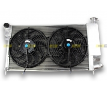 Pack Radiator Aluminum PEUGEOT 306 16S and CITROEN ZX VOLCANE + fans dishes