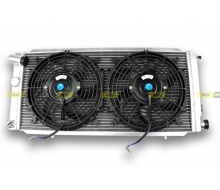 Radiator Aluminum and fans, dishes PEUGEOT 205 GTI 1.6 L/1.9 L