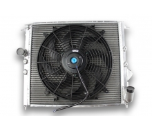 Radiator and Aluminum fan flat-RENAULT CLIO 16S / WILLIAMS