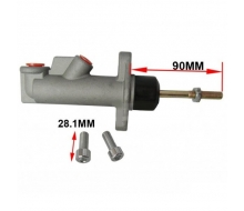Master cylinder for hydraulic hand brake, 0.625 Inch, stem 90mm