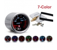 Pressure gauge oil temperature 52mm + sensor 7 colors