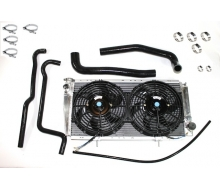 Kit cooling for Renault 4L - Black
