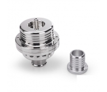 Dump valve forgé finition chrome