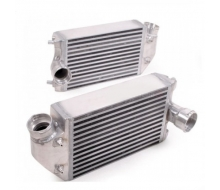 Pair of heat exchangers aluminium big volume for Porsche 911 996/997 GT2