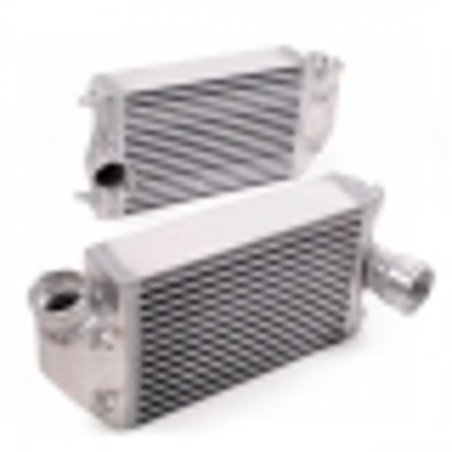 Pair of heat exchangers aluminium big volume for Porsche 911 996/997 Turbo and GT2