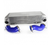 Heat exchanger, aluminum high volume+radiator hoses silicone for BMW 135 and 335 E90 and E92