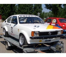 Kit of radiator hoses and silicones for Opel Kadett 1.8 L OHC