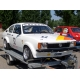 Kit of radiator hoses and silicones for Opel Kadett C 1.8 L OHC