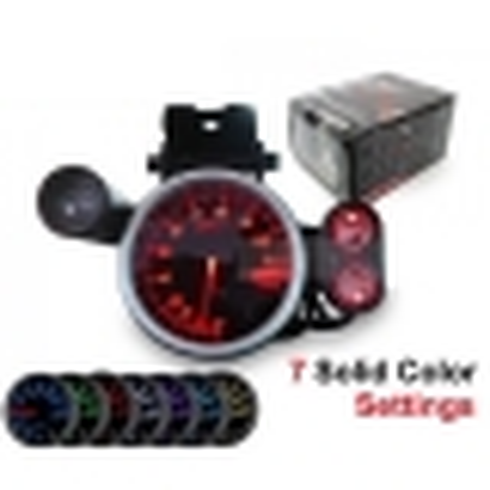 Compte tours 7 couleurs+shift light programmable 80mm