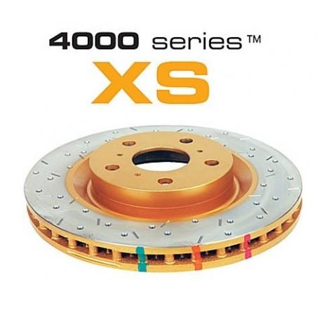 Disque arrière DBA Gold XS 4000 pour BMW M3 E46 01-07