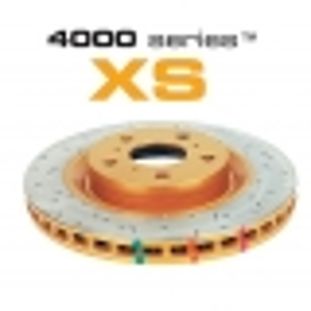Disque arrière DBA Gold XS 4000 pour INTEGRA/CIVIC VTi EK-EG 93-99