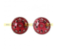 Pair of pulleys adjustable for TOYOTA Supra 1JZ 2JZ,TE