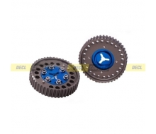 Pair of pulleys adjustable for Mazda MX5 NB