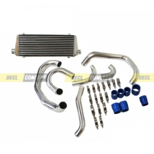 Kit heat exchanger Aluminum big volume for SUBARU IMPREZA GDA GDB GDF WRX STI