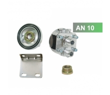 Kit for oil filter remote AN10