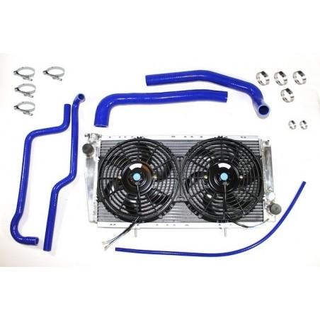 Kit cooling for Renault 4L - Blue