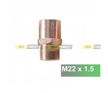 Adapter M22X1.5 for plate sandwich